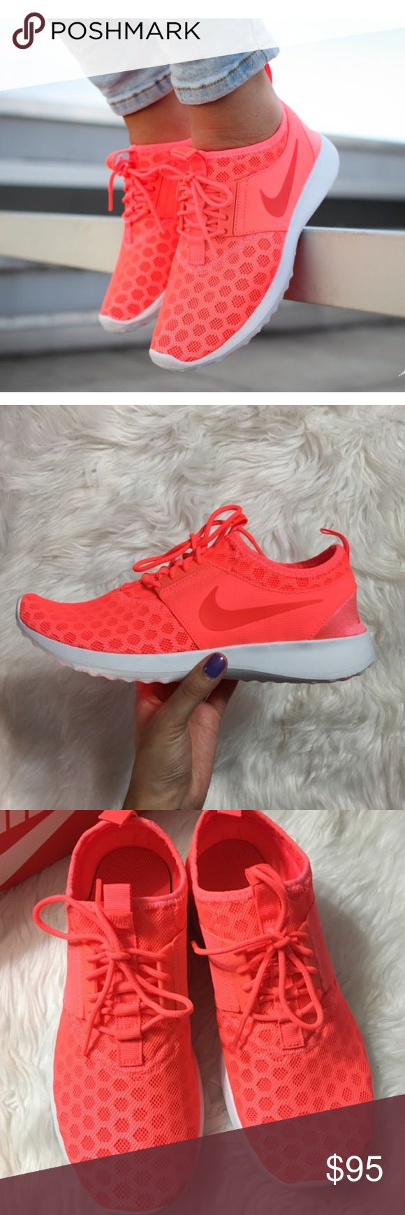 Women's Nike Juvenate Zenji Brand new with the box but no lid. Color is hot lava/bright crimson Nike Shoes Athletic Shoes