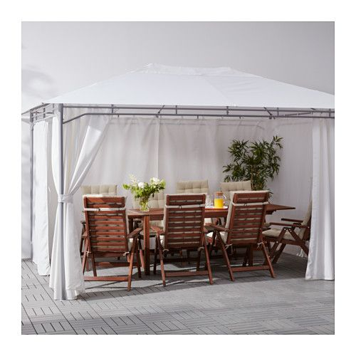 10 ideas about cortinas gazebo no pinterest cortinas ao - Cortinas para patios ...
