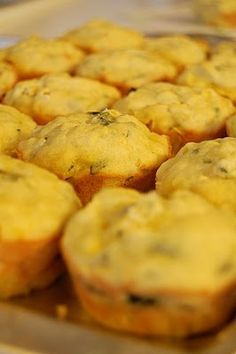 Yellow Squash Muffins.  I got this same recipe out of a cookbook for cast iron cooking and it is awesome!