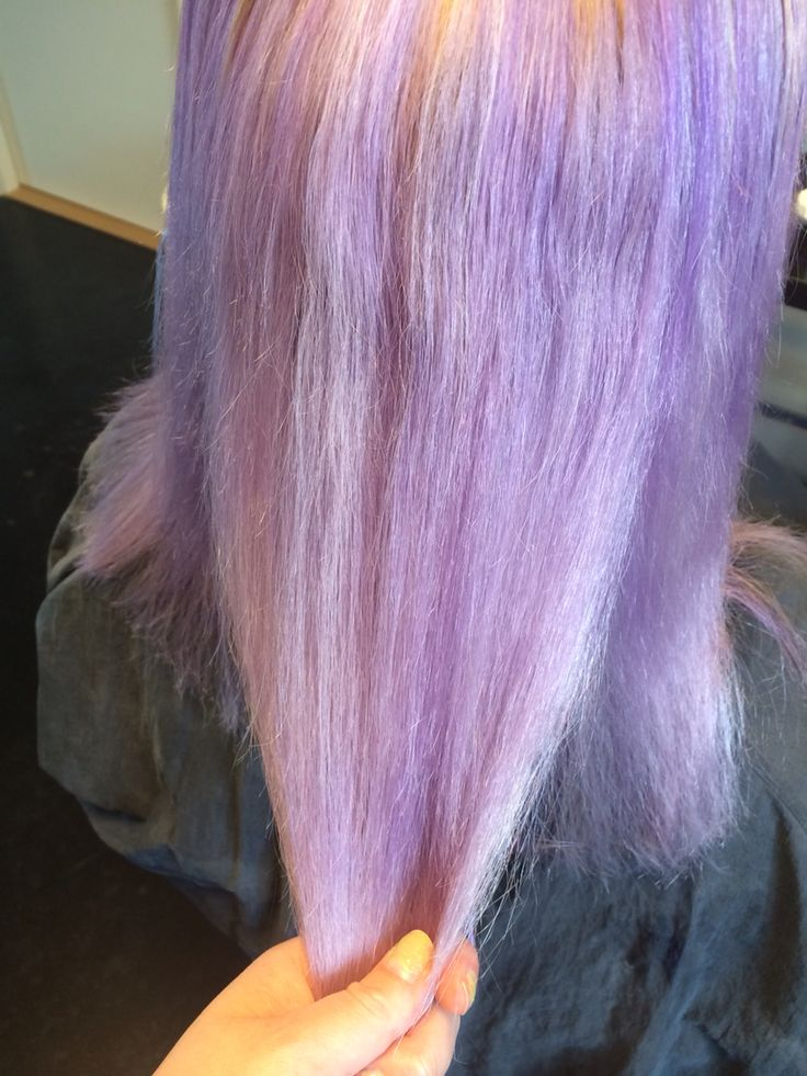 Lilac haircolor