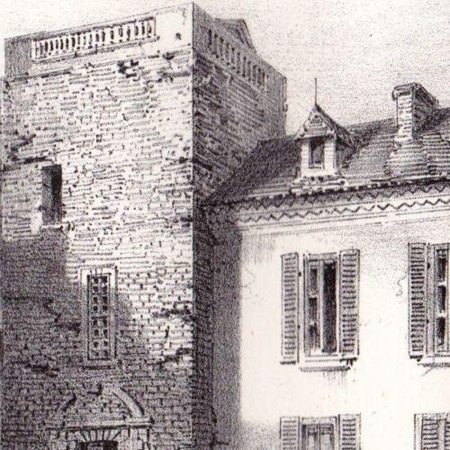 Château de Cauna Barons de Marsan de Cauna Chalosse Landes 2827b5278ad