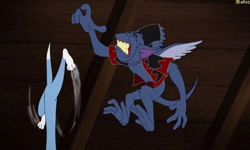 Tom vapuleado por el dragón alado - 73