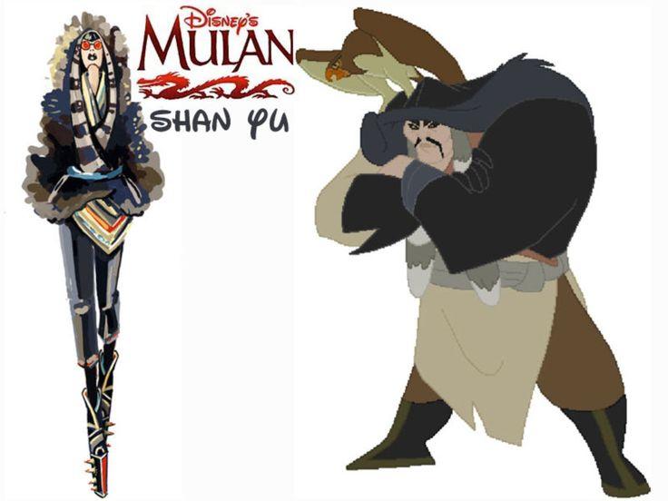 Shan Yu fashion update Disney Villains Mulan | >>Inspiring ...