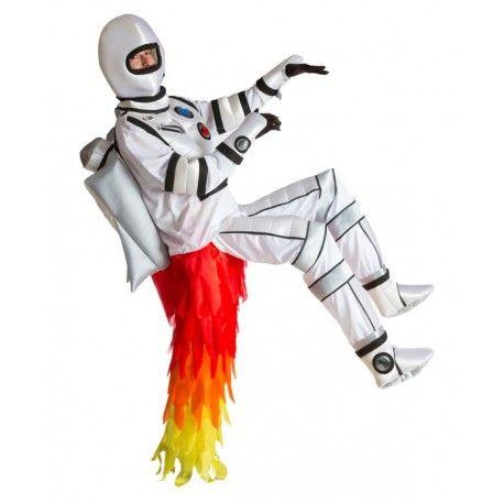 Comprar Disfraz de Astronauta Cohete en nuestra tienda de disfraces online. Divertido y original disfraz de astronauta con cohete incorparado. Incluye traje completo.