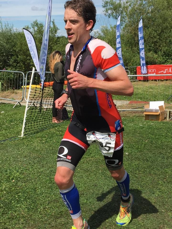 Age group win at the Cotswold Olympic Triathlon