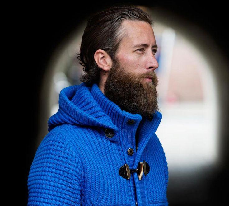 MAN COLLECTION F/W 14-15 | Bark™ - wool dufflecoat