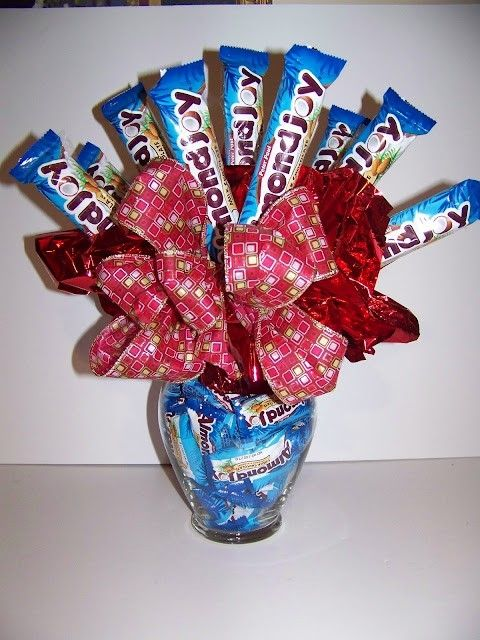 357 best images about Candy Bouquets on Pinterest