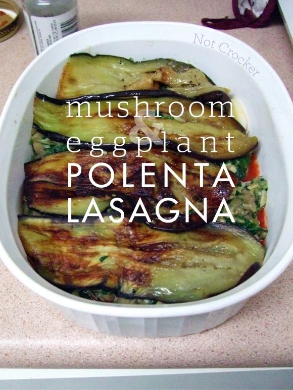 mushroom ragout eggplant and mushroom polenta bake baked eggplant ...