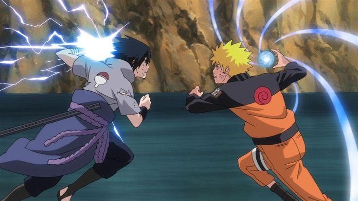Naruto vs Sasuke Final Battle FanCreated Videos Saiyan Island