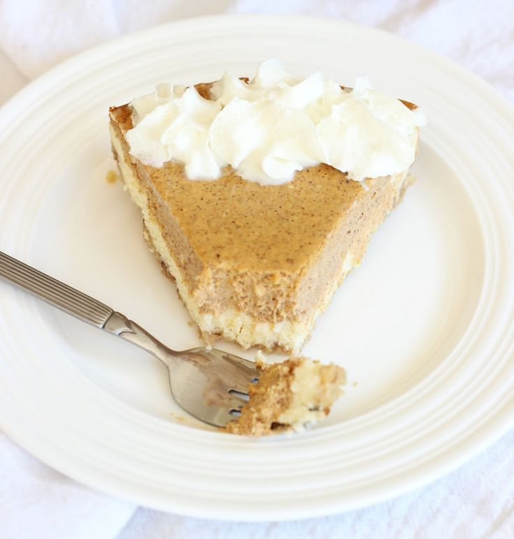 The Gold Lining Girl | Double Layer Pumpkin Cheesecake – 2 ways! Part 1 – The Traditional. | http://thegoldlininggirl.com use Gf Graham crackers for crust :)