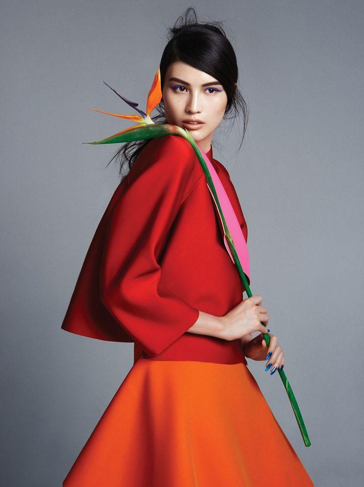 Sui He par Trunk Xu pour Vogue Chine Septembre 2014.