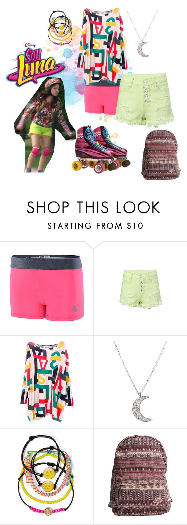 """soy luna"" by maria-look on Polyvore featuring Finn, Carole and Billabong"