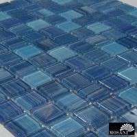 Cristallio Style | blau türkis | Crystalmosaik | Art: 62-0409-HANDMUSTER