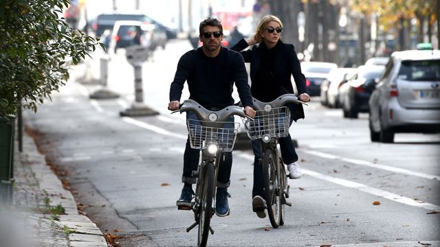 Is McDreamy giving love another chance? Patrick Dempsey was spotted in Paris on Sunday, spending the day with his estranged wife, Jillian Dempsey. NEWS: Patrick Dempsey Files For Divorce The exes, who both looked casual in navy tops and jeans, held hands, rode bikes and took photos (including selfies