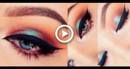 Tutorial zum Schminken in Blau / Rot – Wet n Wild Comfort Zone-Palette   – Makeup ✨