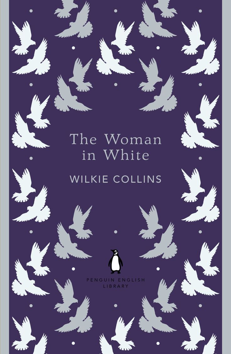 The Woman in White by Wilkie Collins. One of the 100 best English Language novels we're celebrating through our Penguin English Library collection.