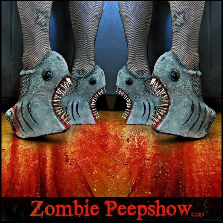 Shark Attack, 40th year anniversary of Jaws by Zombie Peepshow
