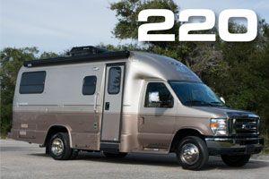 Luxury Small Motorhomes | Fuel Efficient Downsized Class C (Class B-Plus) RVs | Coach House Platinum