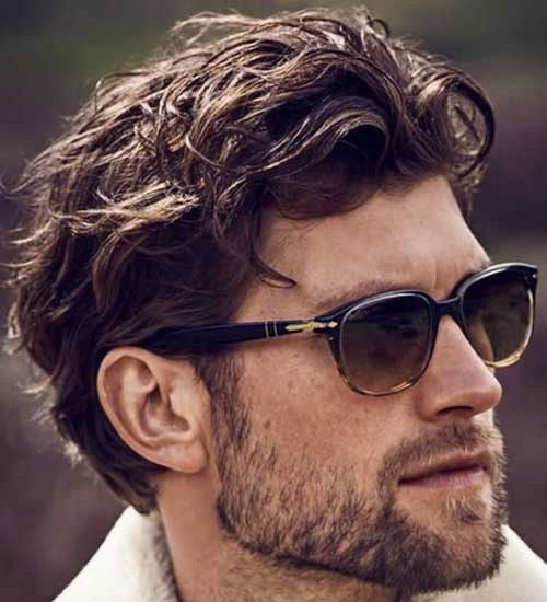 28++ Mens hairstyles for thick wavy hair ideas
