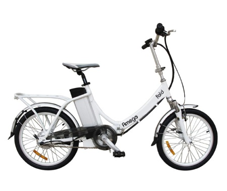 An electric bicycle that folds up?!  Coming to #HamOnt