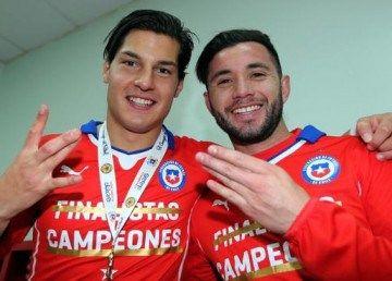 Chile 2015 Copa América Champions PUMA Jersey