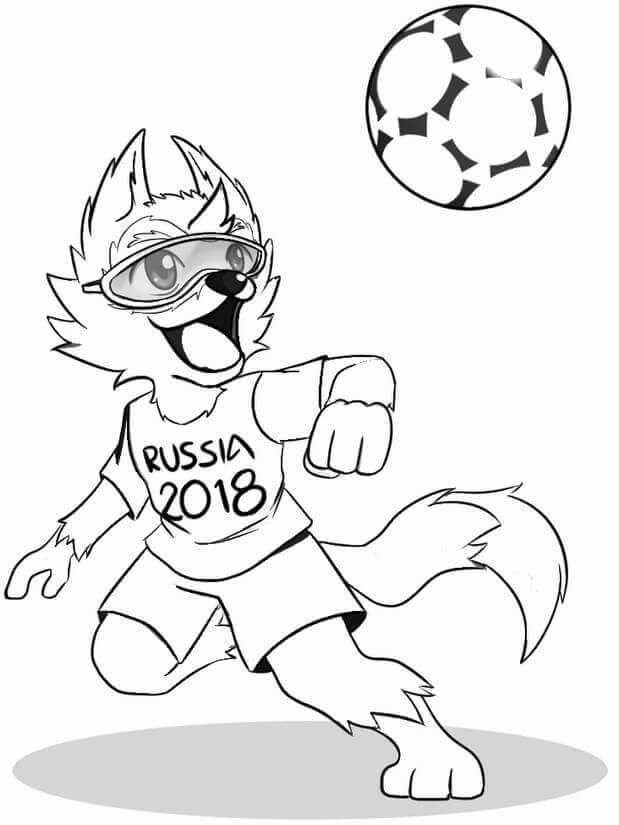 Fifa World Cup Coloring Pages Em 2020 Com Imagens Paginas Para