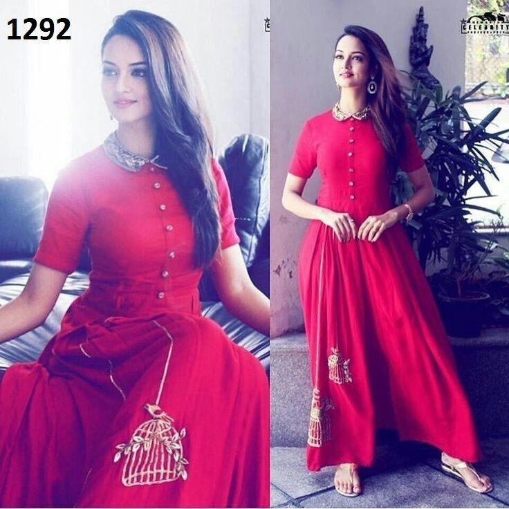 Anarkali Indian Salwar Kameez Designer Suit Party Dress Women Wedding - 1292 #Unbranded #SalwarKameez #PartyWearBridalWeddingFestivalReception