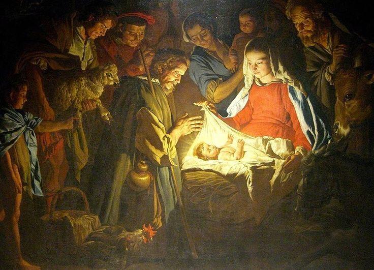 Missing Link:  Matthias Stomer (?1600-?1652): Nativity (c.1640)
