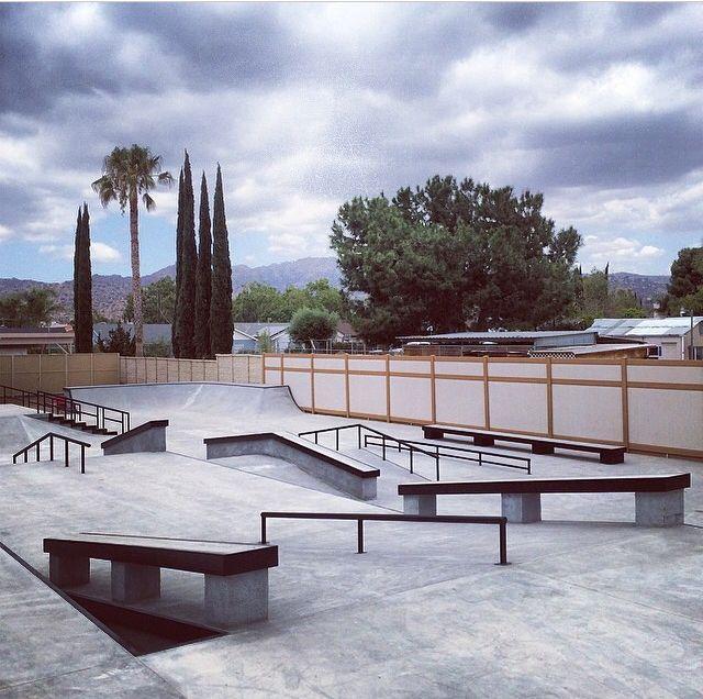 Shane O'neil private backyard skatepark