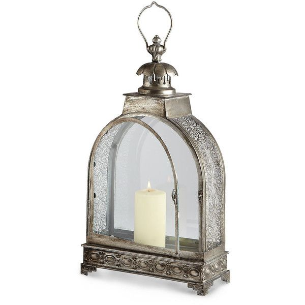 Majestic Canopy Candle Lantern (235 AUD) ❤ liked on Polyvore featuring home, home decor and candles & candleholders