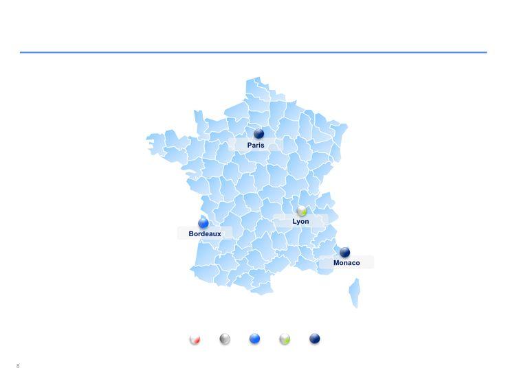 Descarga ahora Mapas de Francia editables en Power Point