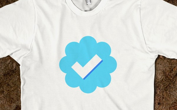 Why not show your love of the short-form social network with a Twitter-themed tee? #nerd