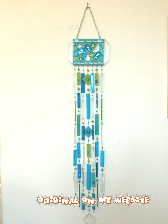 Beaded Wind Chimes Ideas Glass Wind Chimes Make The Most