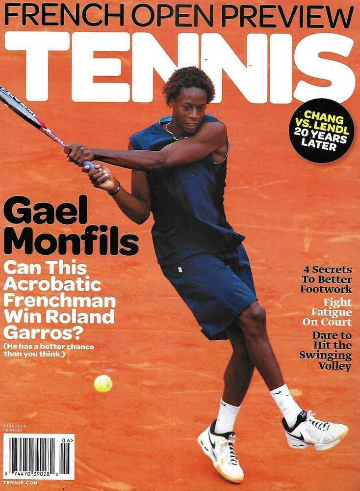 Tennis Magazine French Open Preview Gael Monfils Better Footwork Court Fatigue In 2020 Tennis Magazine Gael Monfils French Open