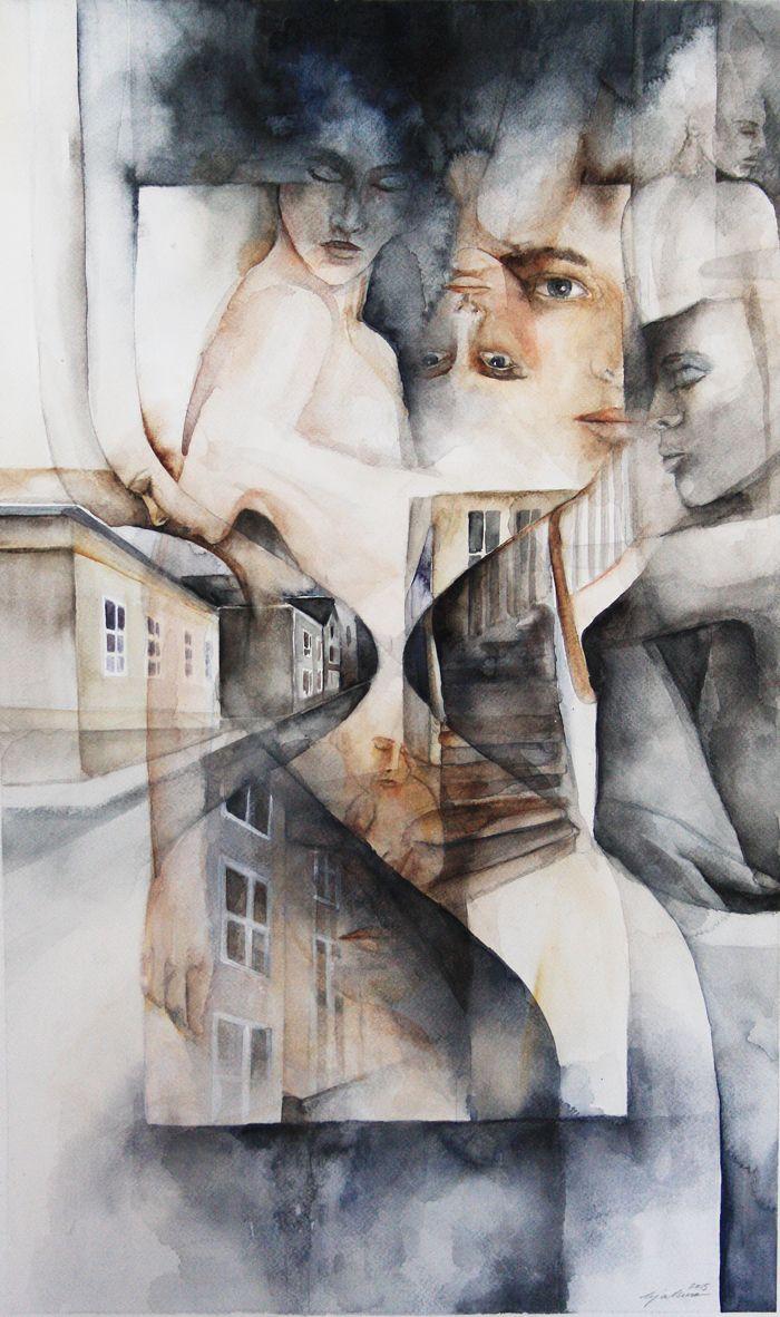 """Art by Erja Muru """"Restart"""""""