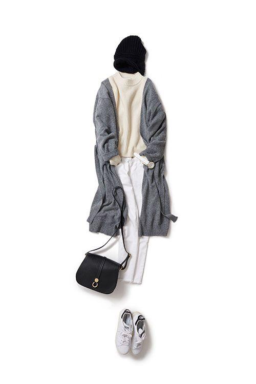 Kyoko Kikuchi's Closet #kk-closet 白+白をカジュアルにラフにアレンジ