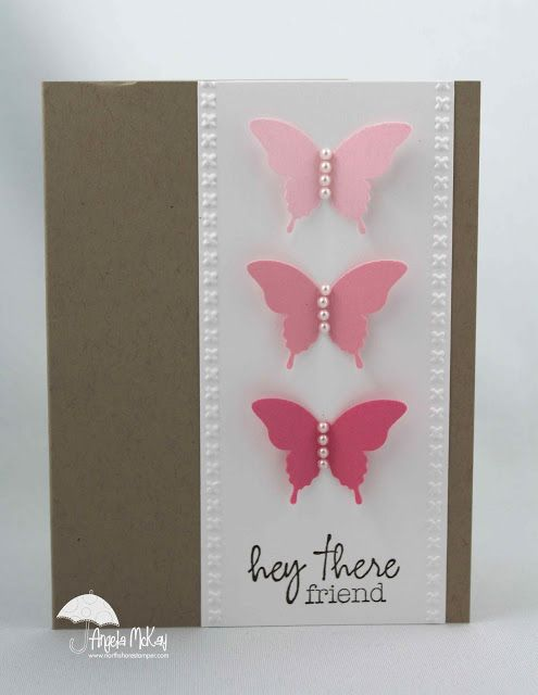 41 best handmade greeting cards ideas images on pinterest north shore stamper case using my paper pumpkin exclusive stamp butterflies find this pin and more on handmade greeting cards m4hsunfo