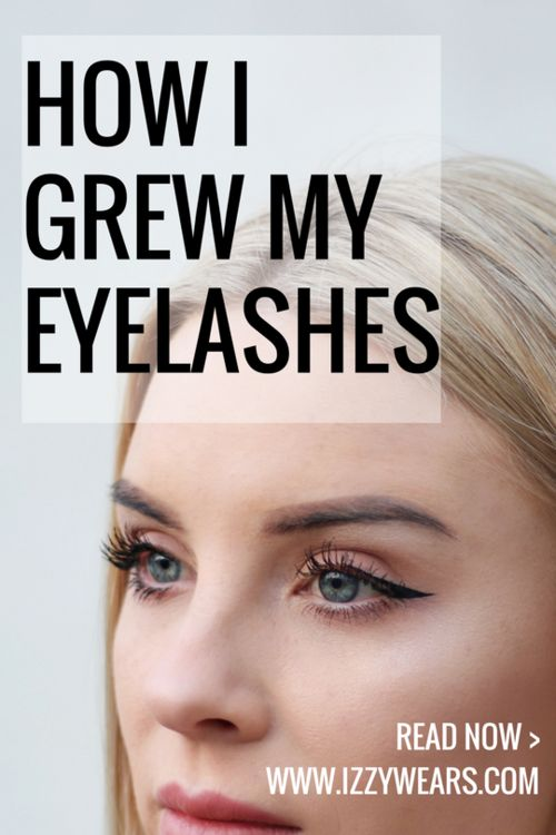 How To Grow Eyelashes - A Serum That Actually Worked! | Izzy Wears Blog https://izzywears.com/blog/how-to-grow-eyelashes-serum