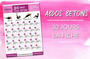 Un programme gratuit de 30 jours avec des exercices ciblés pour travailler votre ceinture abdominale et avoir un ventre plat !  PROGRAMME : 4 exercices ciblés Complétez chaque exercice avec le nombre de répétitions…