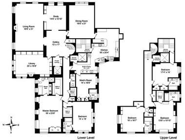 10 Downing Floor Plan