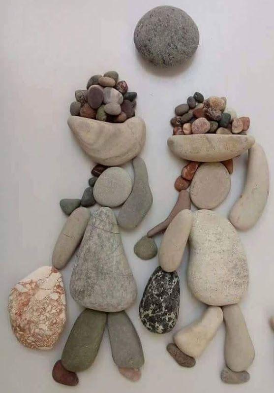Les 120 meilleures images du tableau ideas diy con piedras for Galets plats decoratifs