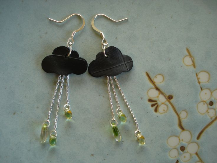 Earrings made from recycled bicycle inner tubes | Bicitoro