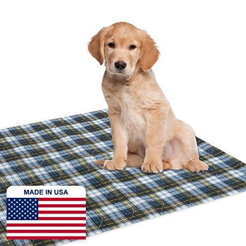 "Dry Defender Puppy Pads (24"" x 36"") - Washable Puppy Training Pads for Housebreaking Your Pet - http://www.thepuppy.org/dry-defender-puppy-pads-24-x-36-washable-puppy-training-pads-for-housebreaking-your-pet/"