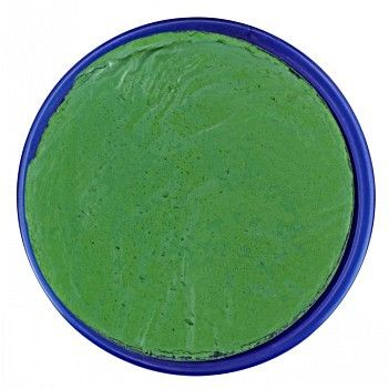 Bright Green face paint by Snazaroo