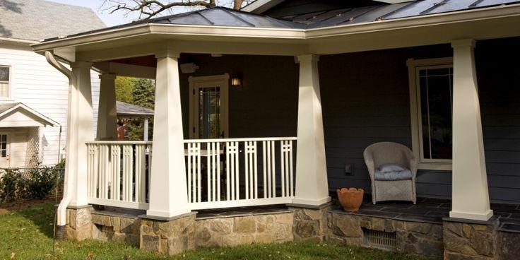 Best Craftsman Porch Railing Craftsman Porch Craftsman