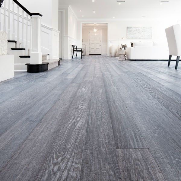 grey washed red oak floor - Google Search