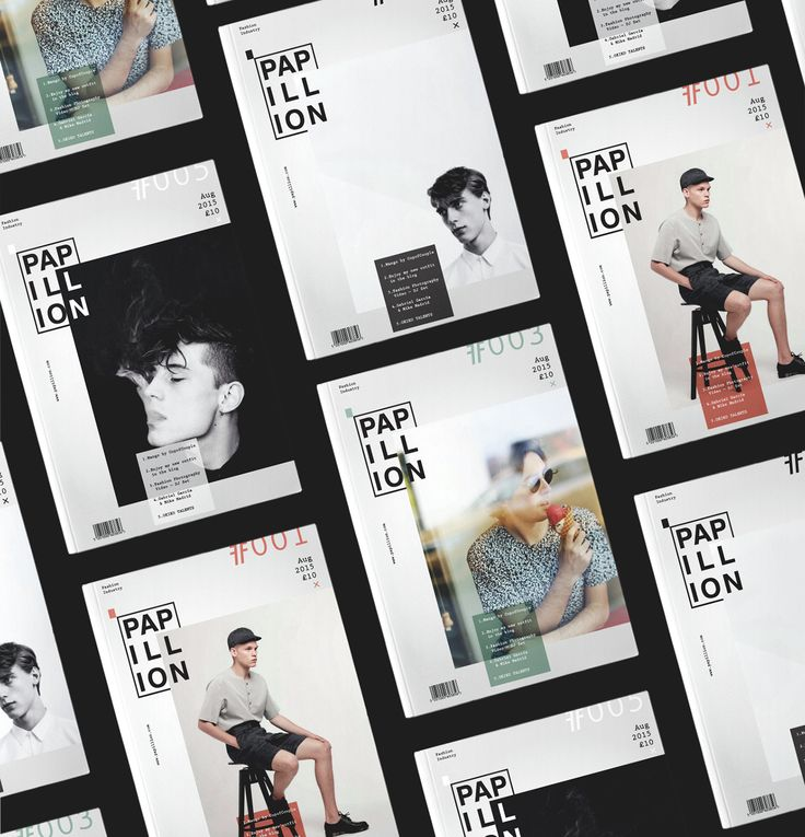 Papillion is a mens' fashion magazine designed in the frames of student work of…