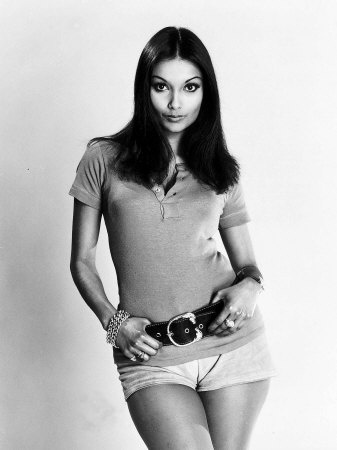 Shakira Caine Model Wife of Michael Caine Photographic Print