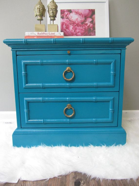 Hey, I found this really awesome Etsy listing at http://www.etsy.com/listing/153719826/faux-bamboo-side-table