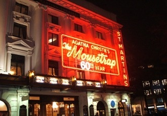 Agatha Christie's The Mousetrap at St Martins Theatre